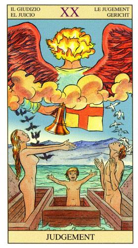 Суд Старшие Арканы Таро Нью Вижн (Tarot of the New Vision)