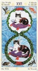 21 Мир Таро Языческих Кошек (Tarot of Pagan Cats)
