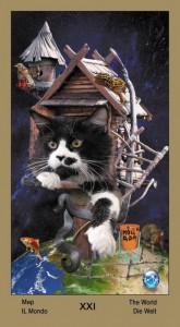 "21 Мир Таро ""Катавасия"" (Tarot Cat-A-Vasya)"