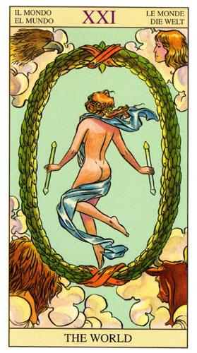 Мир Старшие Арканы Таро Нью Вижн (Tarot of the New Vision)
