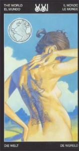21 Мир - Таро Таттуаж - галерея карт
