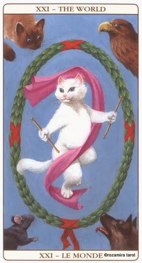 Мир Таро Марсельских кошек (Marseille Cat Tarot)