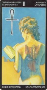 2 Жрица - Таро Таттуаж - галерея карт