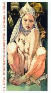 2 Жрица - Таро Декамерон - галерея карт