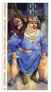 3 Императрица - Таро Декамерон - галерея карт