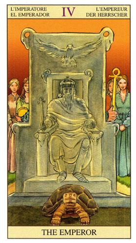 Император Старшие Арканы Таро Нью Вижн (Tarot of the New Vision)