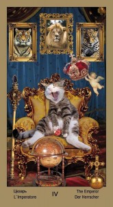 "4 Император Таро ""Катавасия"" (Tarot Cat-A-Vasya)"