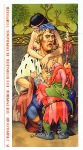 4 Император - Таро Декамерон - галерея карт