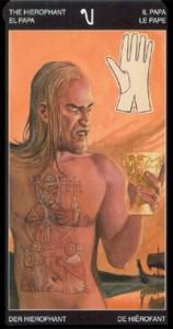 5 Жрец - Таро Таттуаж - галерея карт