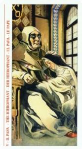 5 Жрец - Таро Декамерон - галерея карт