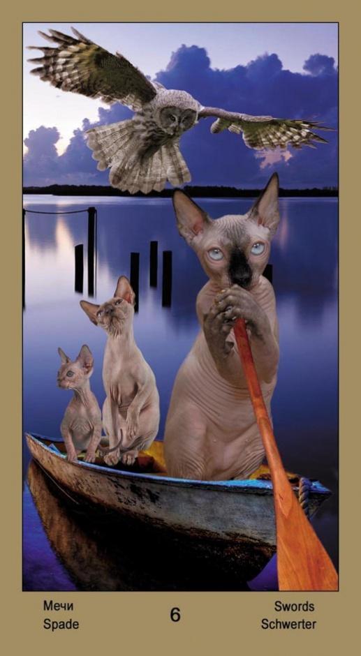 "6 Масть Мечей Таро ""Катавасия"" (Tarot Cat-A-Vasya)"