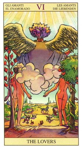 Влюбленные Старшие Арканы Таро Нью Вижн (Tarot of the New Vision)