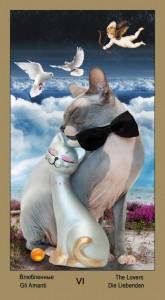 "6 Влюбленные Таро ""Катавасия"" (Tarot Cat-A-Vasya)"