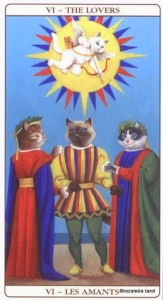 Влюбленные Таро Марсельских кошек (Marseille Cat Tarot)