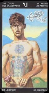 6 Влюбленные - Таро Таттуаж - галерея карт