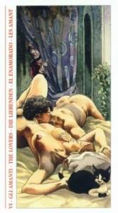 6 Влюбленные - Таро Декамерон - галерея карт