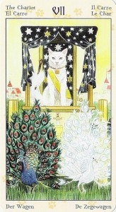 7 Колесница Таро Языческих Кошек (Tarot of Pagan Cats)