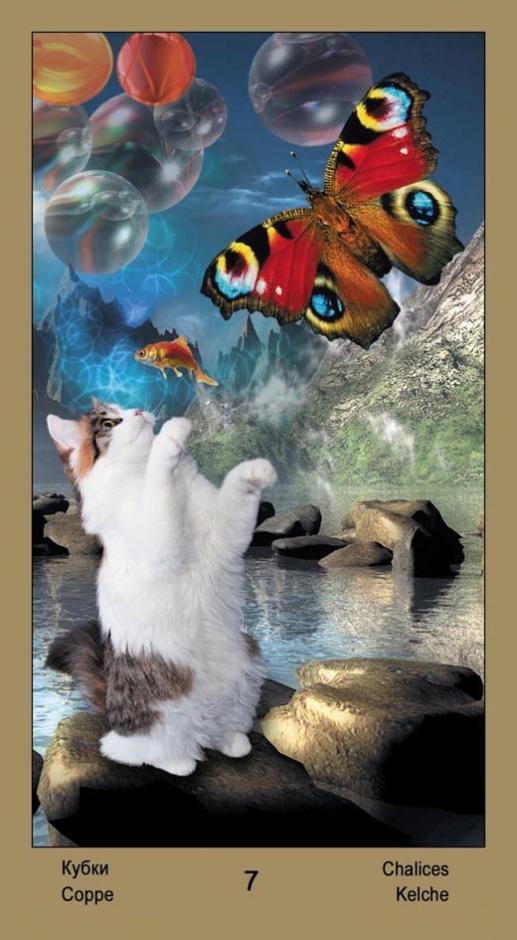 """7 Масть Кубков Таро """"Катавасия"""" (Tarot Cat-A-Vasya)"""
