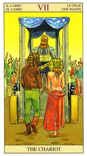 Колесница Старшие Арканы Таро Нью Вижн (Tarot of the New Vision)