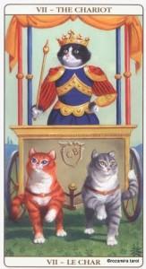 Уолесница Таро Марсельских кошек (Marseille Cat Tarot)