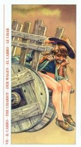 7 Колесница - Таро Декамерон - галерея карт