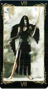 8 Справедливость Таро Темных Ангелов