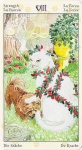 8 Сила Таро Языческих Кошек (Tarot of Pagan Cats)