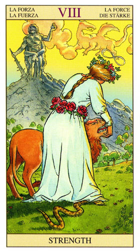 Сила Старшие Арканы Таро Нью Вижн (Tarot of the New Vision)