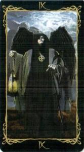 9 Отшельник Таро Темных Ангелов