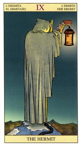 Отшельник Старшие Арканы Таро Нью Вижн (Tarot of the New Vision)