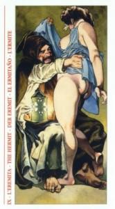 9 Отшельник - Таро Декамерон - галерея карт