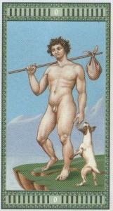 0 Шут Таро Микеланджело - галерея карт