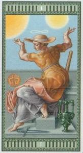 1 Маг Таро Микеланджело - галерея карт