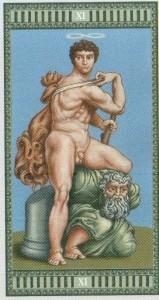 11 Сила Таро Микеланджело - галерея карт