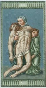 13 Смерть Таро Микеланджело - галерея карт