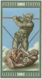 15 Дьявол Таро Микеланджело - галерея карт