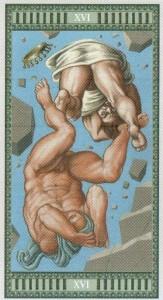 16 Башня Таро Микеланджело - галерея карт