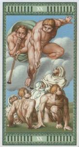 20 Суд Таро Микеланджело - галерея карт