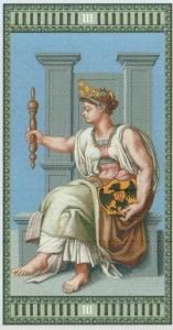 3 Императрица Таро Микеланджело - галерея карт