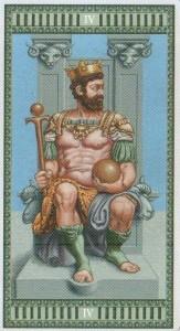 4 Император Таро Микеланджело - галерея карт