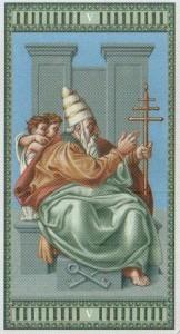 5 Иерофант Таро Микеланджело - галерея карт