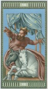 7 Колесница Таро Микеланджело - галерея карт