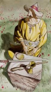 1 Маг Таро Ритуалы Ордена Золотой Зари - галерея карт