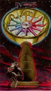 10 Колесо Фортуны Таро Ритуалы Ордена Золотой Зари - галерея карт