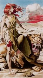 11 Сила Таро Ритуалы Ордена Золотой Зари - галерея карт