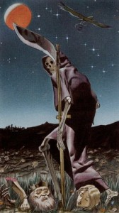 13 Смерть Таро Ритуалы Ордена Золотой Зари - галерея карт