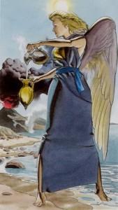 14 Умеренность Таро Ритуалы Ордена Золотой Зари - галерея карт