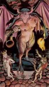 15 Дьявол Таро Ритуалы Ордена Золотой Зари - галерея карт