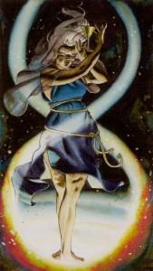 2 Жрица Таро Ритуалы Ордена Золотой Зари - галерея карт