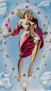 21 Мир Таро Ритуалы Ордена Золотой Зари - галерея карт